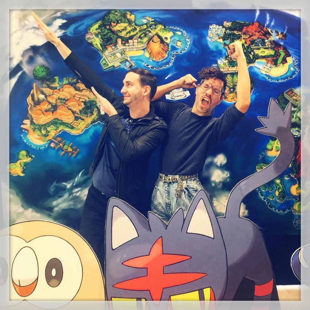 pokemon sun and moon NINTENDO WORLD NYC