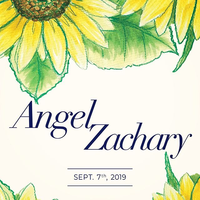Angel & Zachary Wedding september 7th 2019
