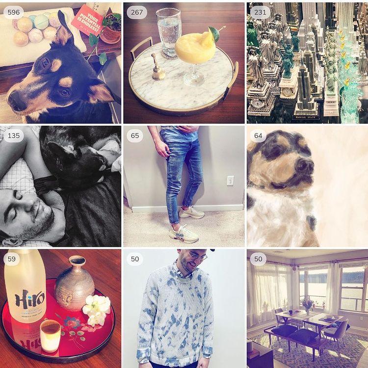 2020 top nine instagram